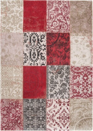 Dywan Louis de Poortere Vintage Patchwork Multi Antwerp Red 8985