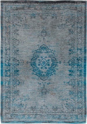 Dywan Louis de Poortere Fading World Medallion Grey Turquoise 8255