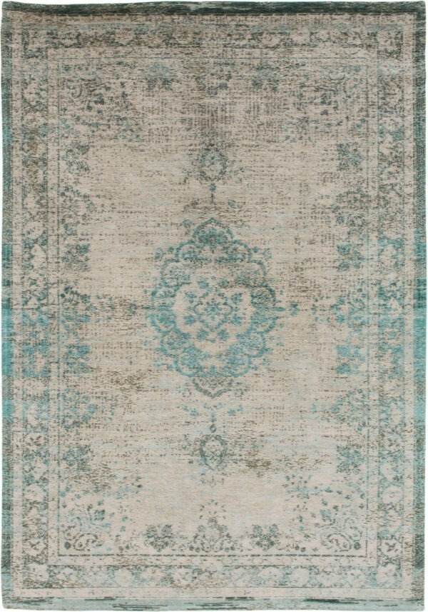 MO rugs Louis-De-Poortere-Fading-World-Medallion-Jade-Oyster-8259-1