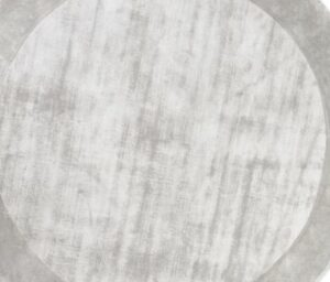 Dywan Carpet Decor Tere Light Grey Handmade Collection Round