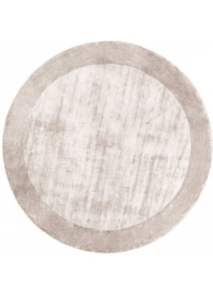 Dywan Carpet Decor Tere Silver Handmade Collection Round