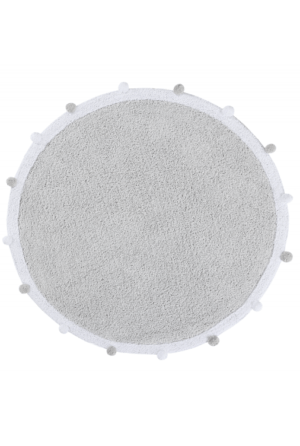 Dywan Lorena Canals Bubbly Light Grey Round 120
