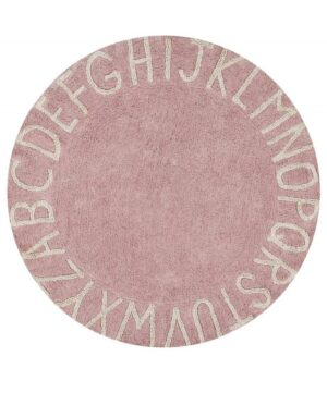 Dywan Lorena Canals Round ABC Vintage Nude Natural 150
