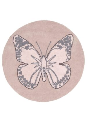 Dywan Lorena Canals Butterfly Vintage Nude Round 160