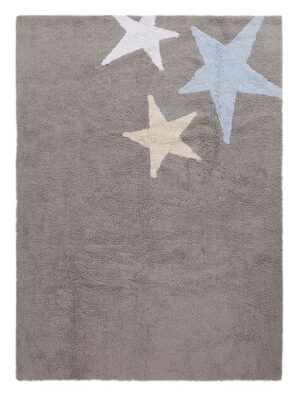 Dywan Lorena Canals Three Stars Grey-Blue 120x160