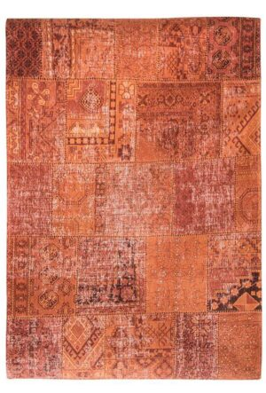 Dywan Louis de Poortere Vintage Patchwork Rusty Orange 8783 140x200
