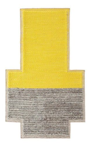 Dywan Gan Mangas Space Plait Yellow
