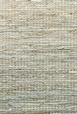 Dywan Rug Solid Jute/Leather Smooth Grey