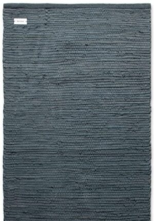Dywan Rug Solid Cotton Rug Steel Grey