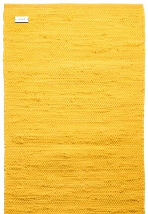 Dywan Rug Solid Cotton Rug Raincoat Yellow