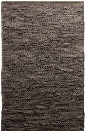 Dywan Rug Solid Leather Wood